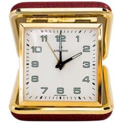 Travel Alarm Clock by Junghans, circa 1960s