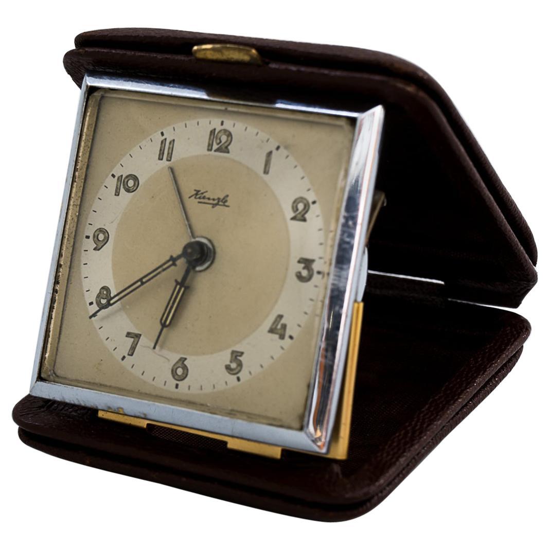 Travel Alarm Clock by Kienzle, circa 1960s