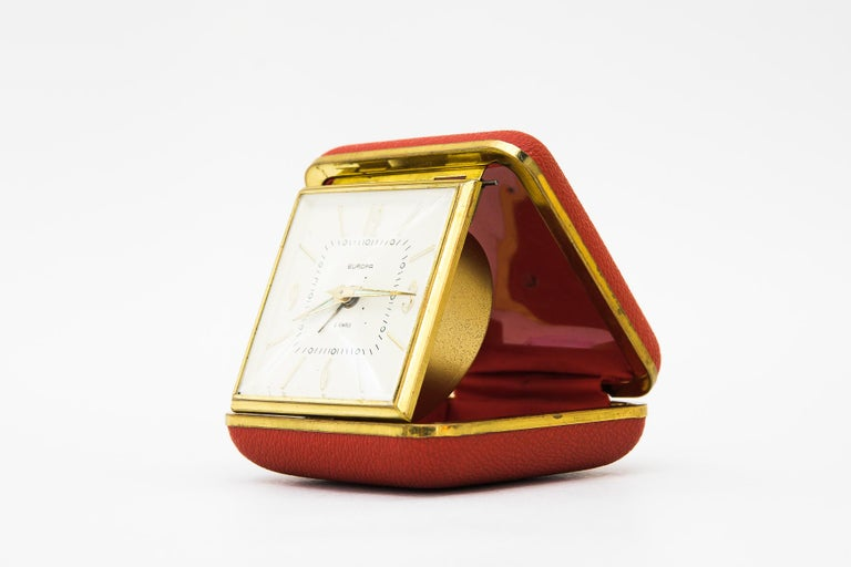 Mid-Century Modern Travel Alarm Clock