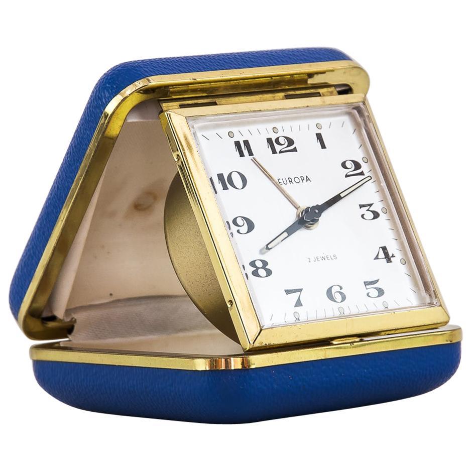 "Travel Alarm Clock ""Europe"", 1950s"