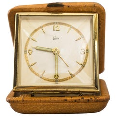 "Travel Alarm Clock from ""Emes"", Germany, circa 1960s"