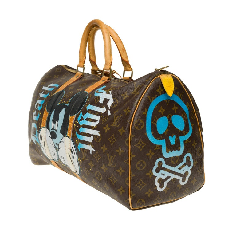 Women's or Men's Travel bag Louis Vuitton 45 Monogram customized