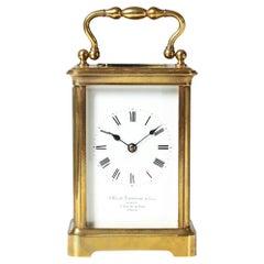 Travel, Carriage Clock with Sonnerie, Pendulette de Voyage, Paris, circa 1900