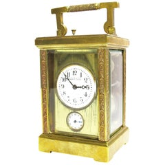 Travel Clock, Marcks & Co. Ltd., Bombay & Poona