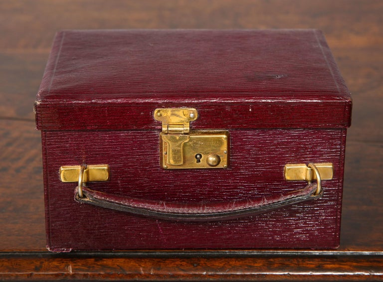 British Traveler's Jewelry Box For Sale