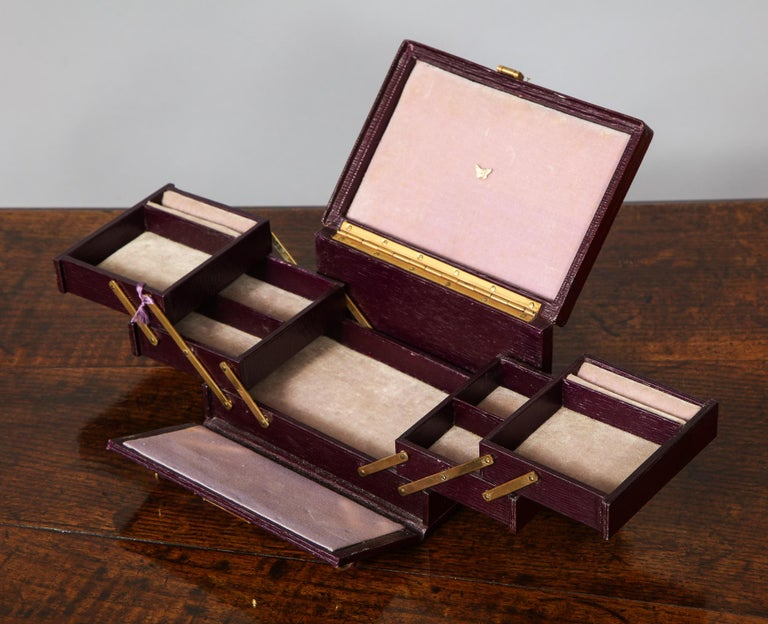 20th Century Traveler's Jewelry Box For Sale