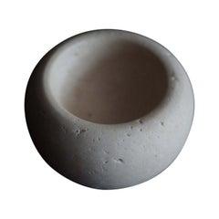 Travertine Bowl, by Brendan Tadler in Beige Travertine