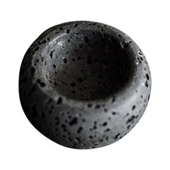 Travertine Bowl, by Brendan Tadler in Black Travertine