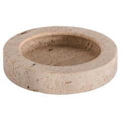 Travertine Bowl or Catch-All