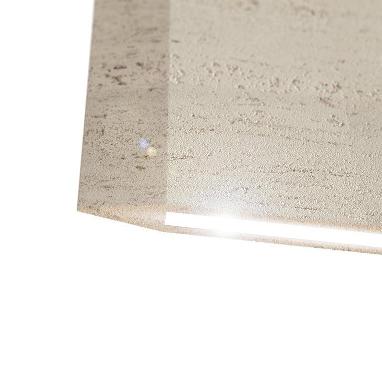 Travertine Ceiling Lamp
