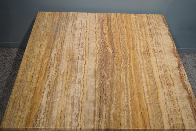 Travertine Coffee Table For Sale 5