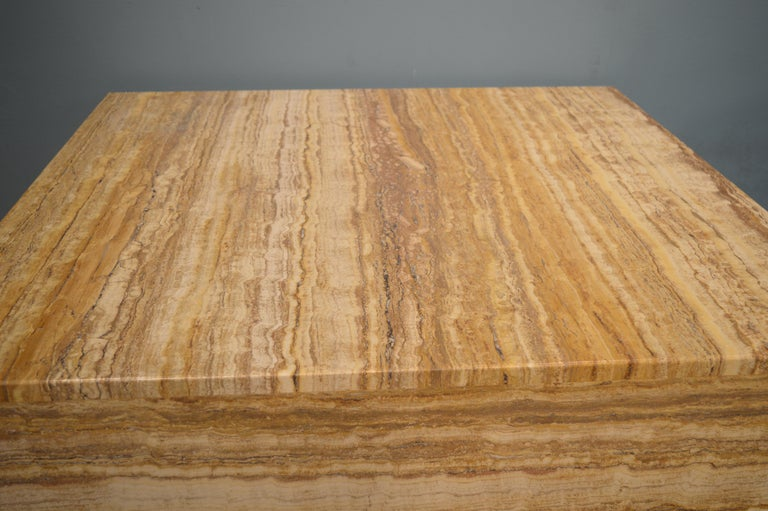 Travertine Coffee Table For Sale 3