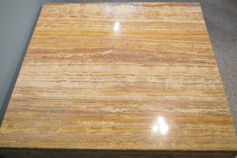 Travertine Coffee Table For Sale 1