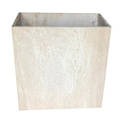 Travertine Italian Maximalist Table Base by Artedi Made in Italy