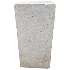 Travertine Marble Pedestal