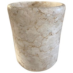 Travertine Marble Wine Cooler