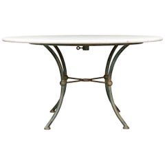 Travertine Top Dining/Center Table