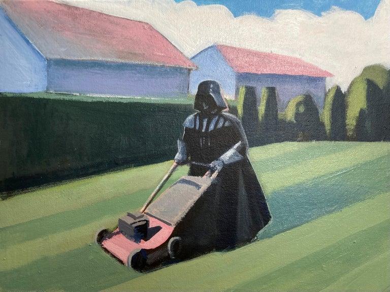 Travis Walker Figurative Painting - Darth Mower