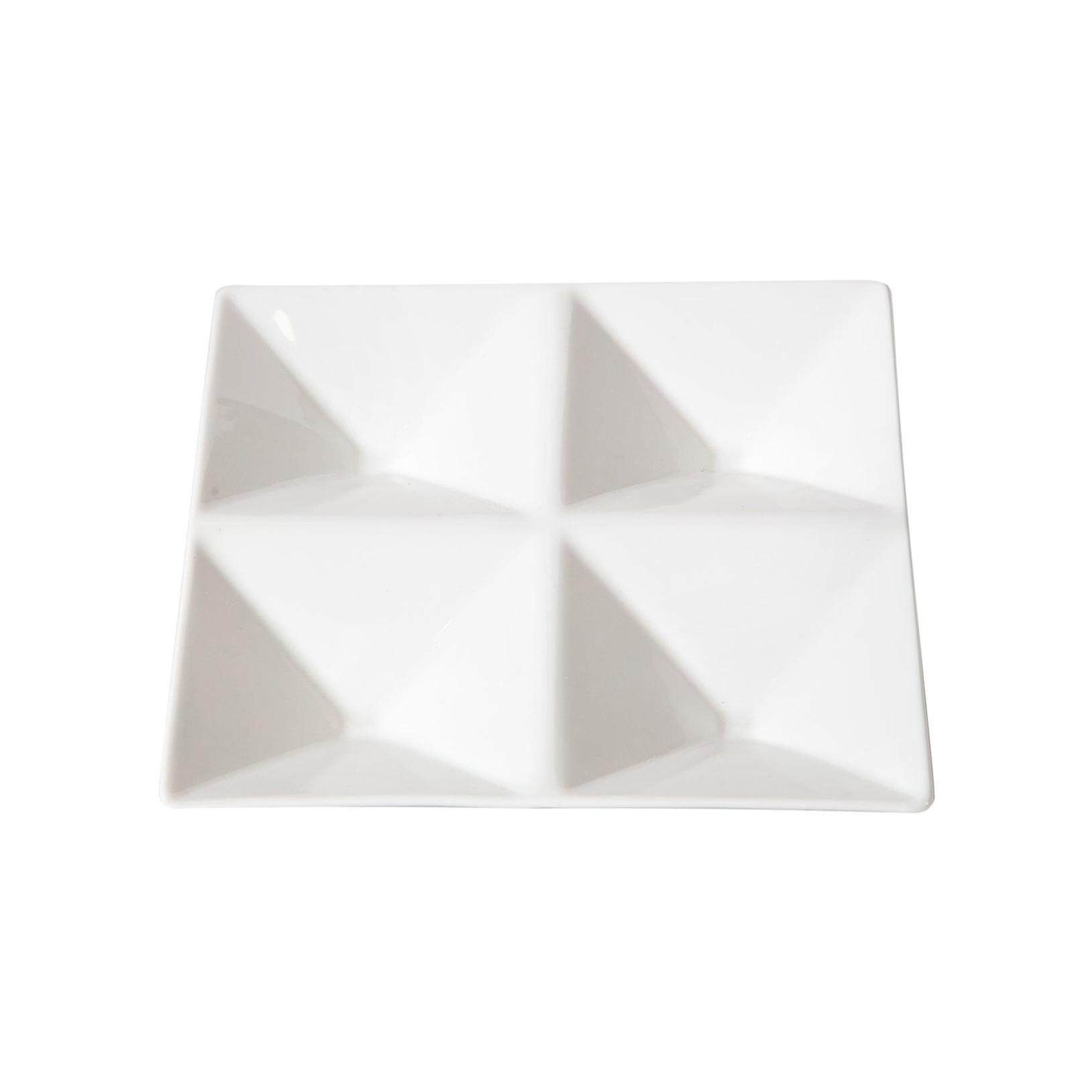 Tray, Arabia, Finland, White Porcelain, Scandinavian, Contemporary, in Stock