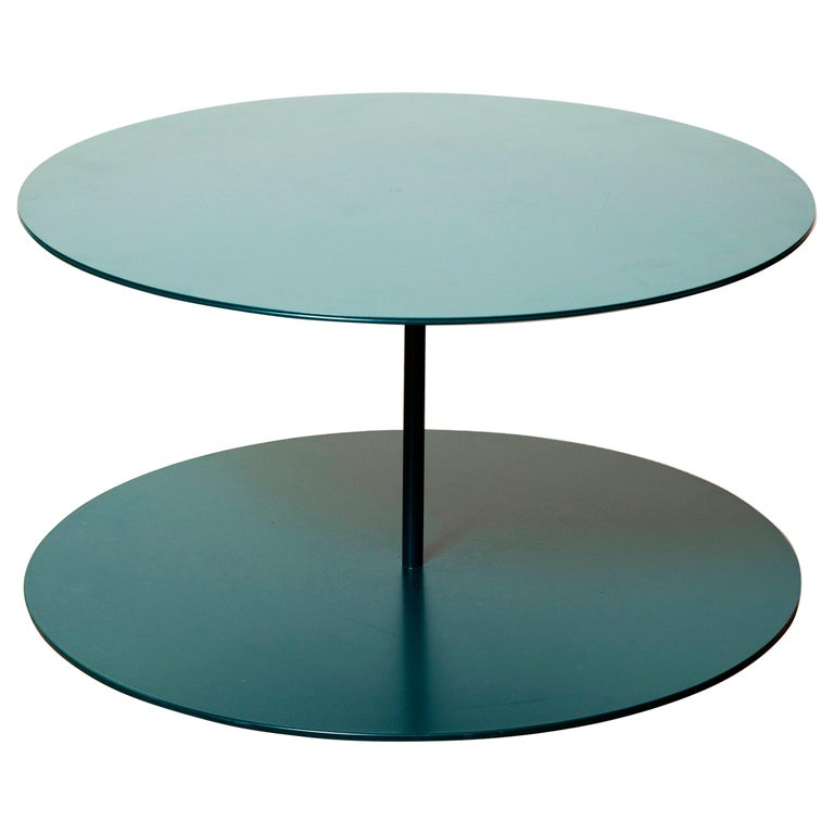 Tray I Metal Structure Luxury Side Table, Made in Italy For Sale