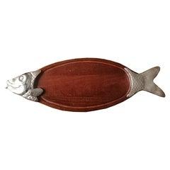 Tray Serve Fish Shaped, Spain, 20th Century