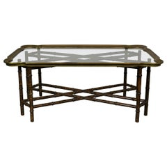 Tray-Top Coffee Table