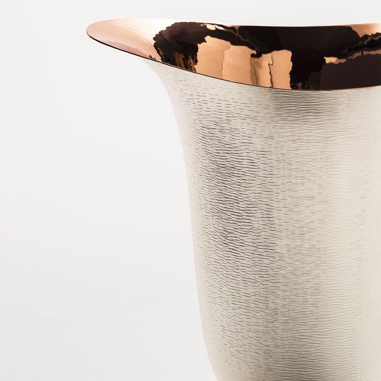 Italian Tre Vase by Denise Viviani For Sale