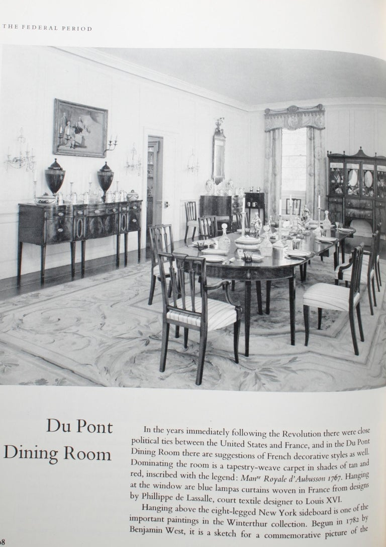 Paper Treasure House of Early American Rooms by John A. Sweeney, First Edition For Sale