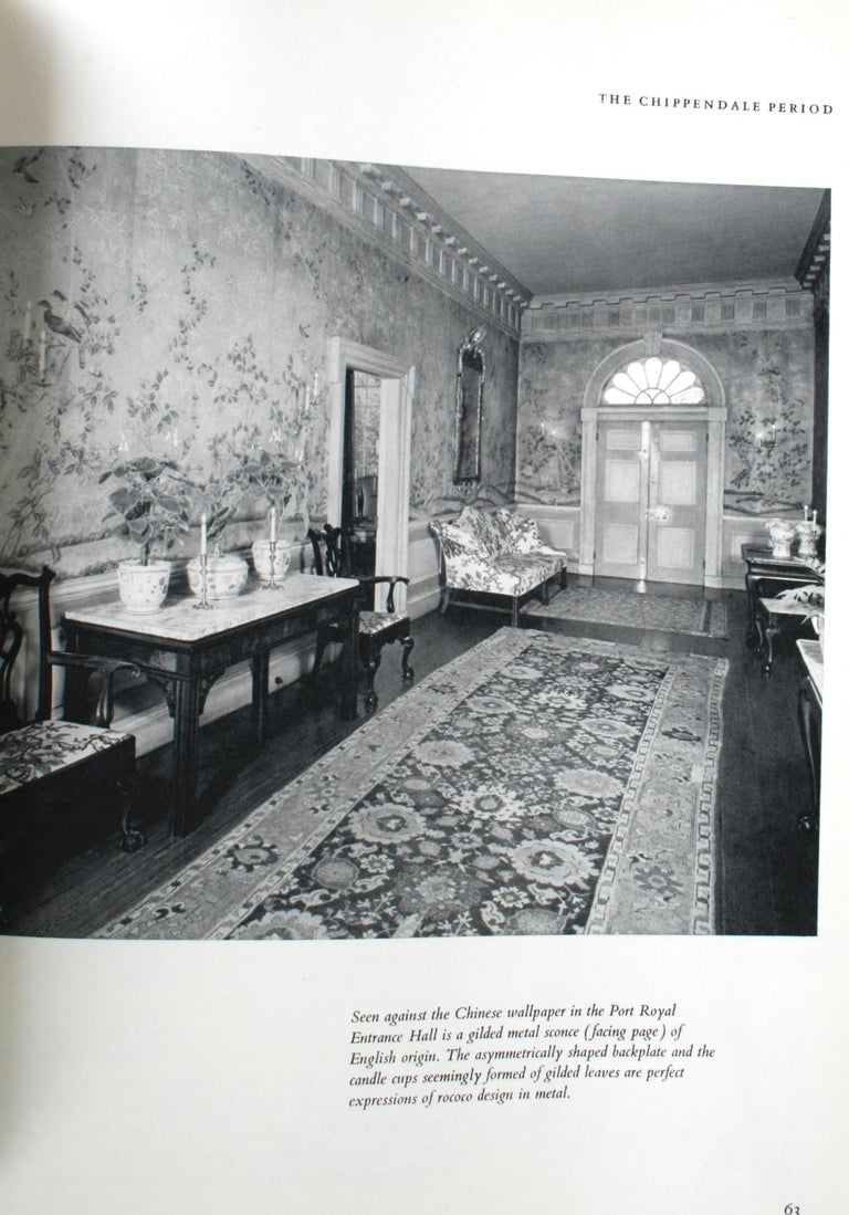 Treasure House of Early American Rooms by John A. Sweeney, First Edition In Good Condition For Sale In Kinderhook, NY