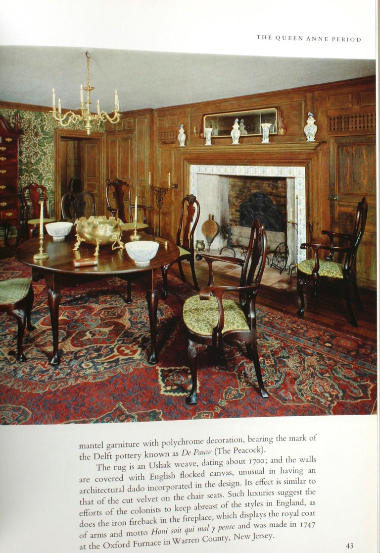 Mid-20th Century Treasure House of Early American Rooms by John A. Sweeney, First Edition For Sale
