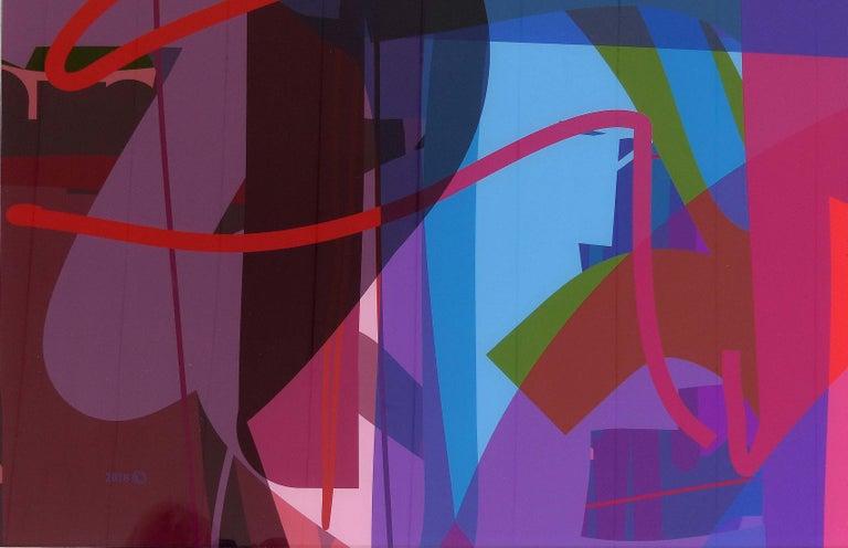 American Abstract Archival Digital Fine Art Print