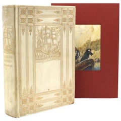 """""""Treasure Island"""" by Robert Louis Stevenson, Numbered Limited First Edition 1911"""