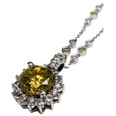 Treated Yellow Diamond