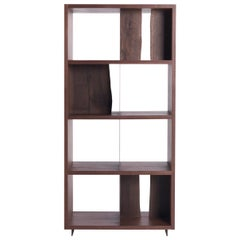 Tree Life Walnut Wood Bookcase
