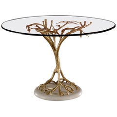 Tree-Like Glass Table by Banci