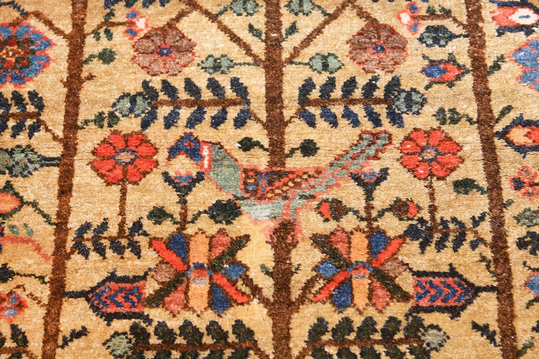 Tree Of Life Antique Tabriz Persian Rug