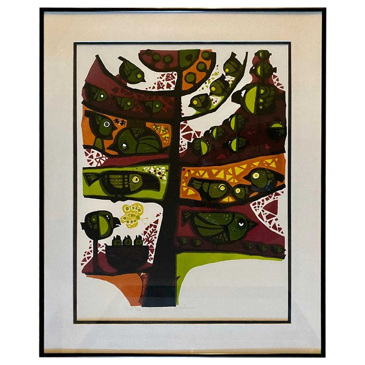 Tree of Life by David Weidman Lithograph