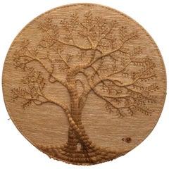 Tree of Life Fiber Art by Don Freedman