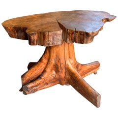Tree Root Side Table, France, 20th Century