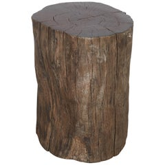 Tree Stump Stool, Side Table