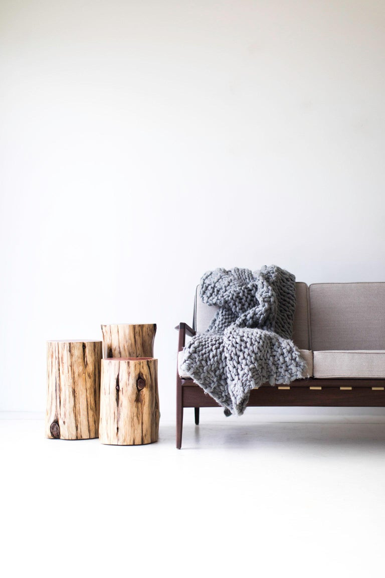 Tree Stump Tables, Natural For Sale 2