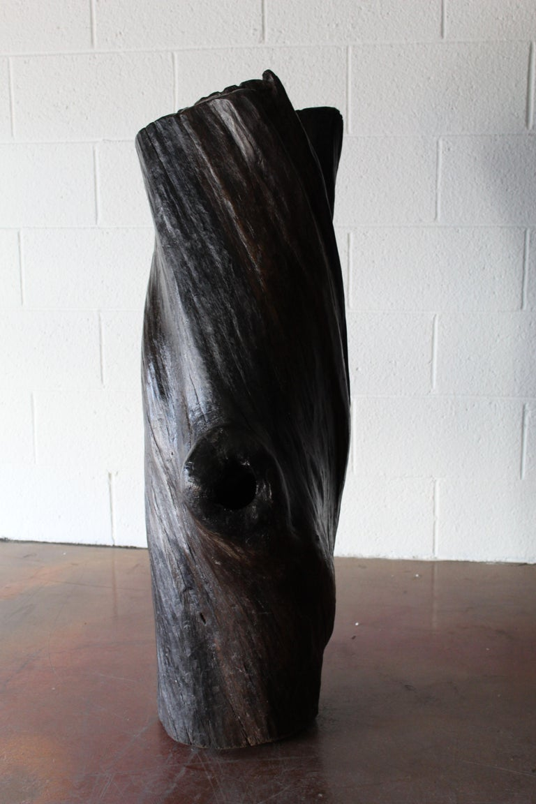 Tree Trunk Sculpture For Sale 1