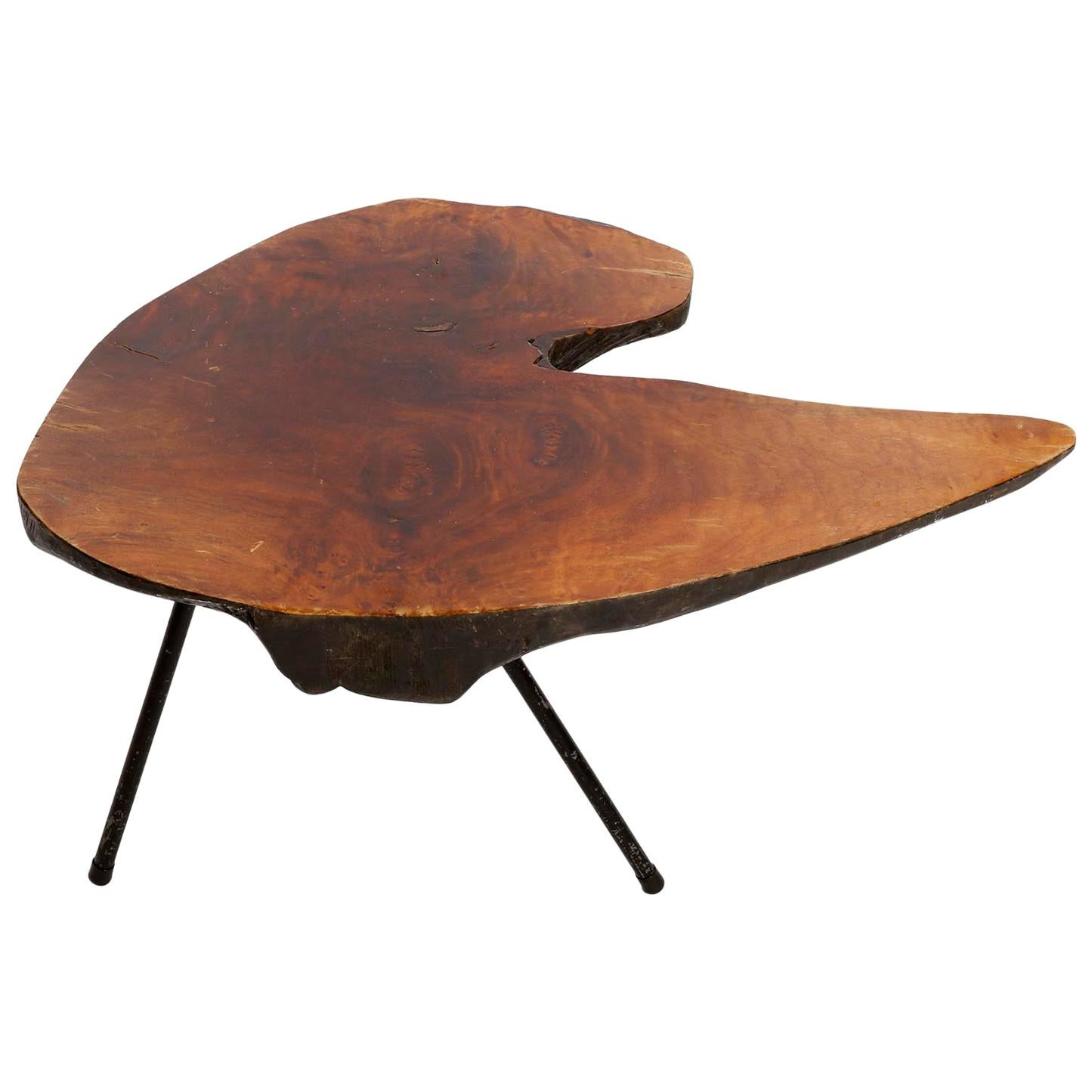 Tree Trunk Table, Carl Auböck, attributed, 1950s