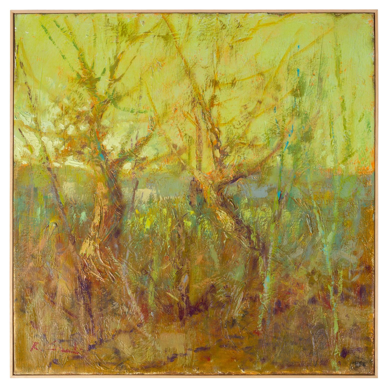 """TREES"" Italian Painting"