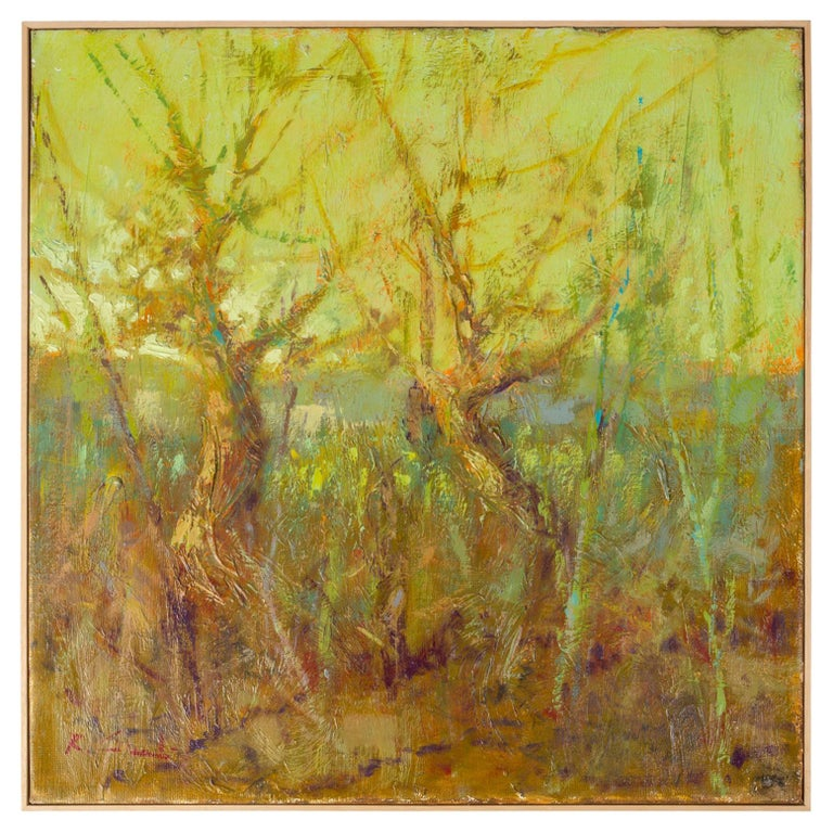 """""""TREES"""" Italian Painting For Sale"""
