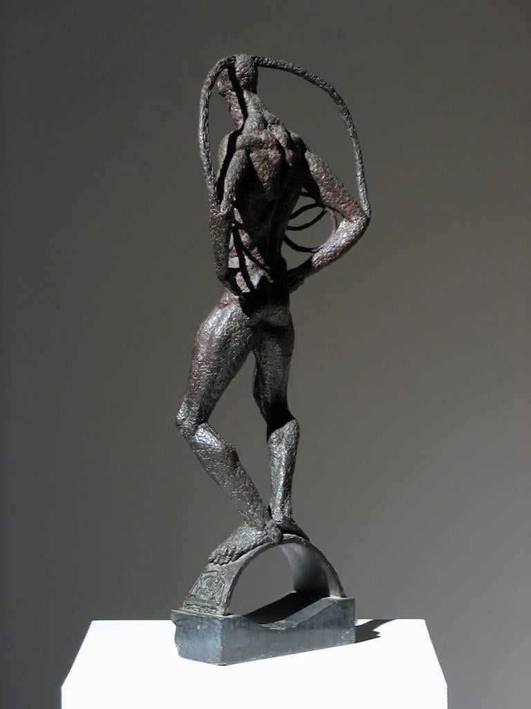 Trego Samhain ca. 1930s Foundry Mark: Fundicion Campaiota Bronze 30 x 11.75 x 7 inches $8,500