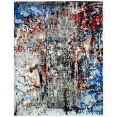 Trendsetting Abstract Contemporary Rug