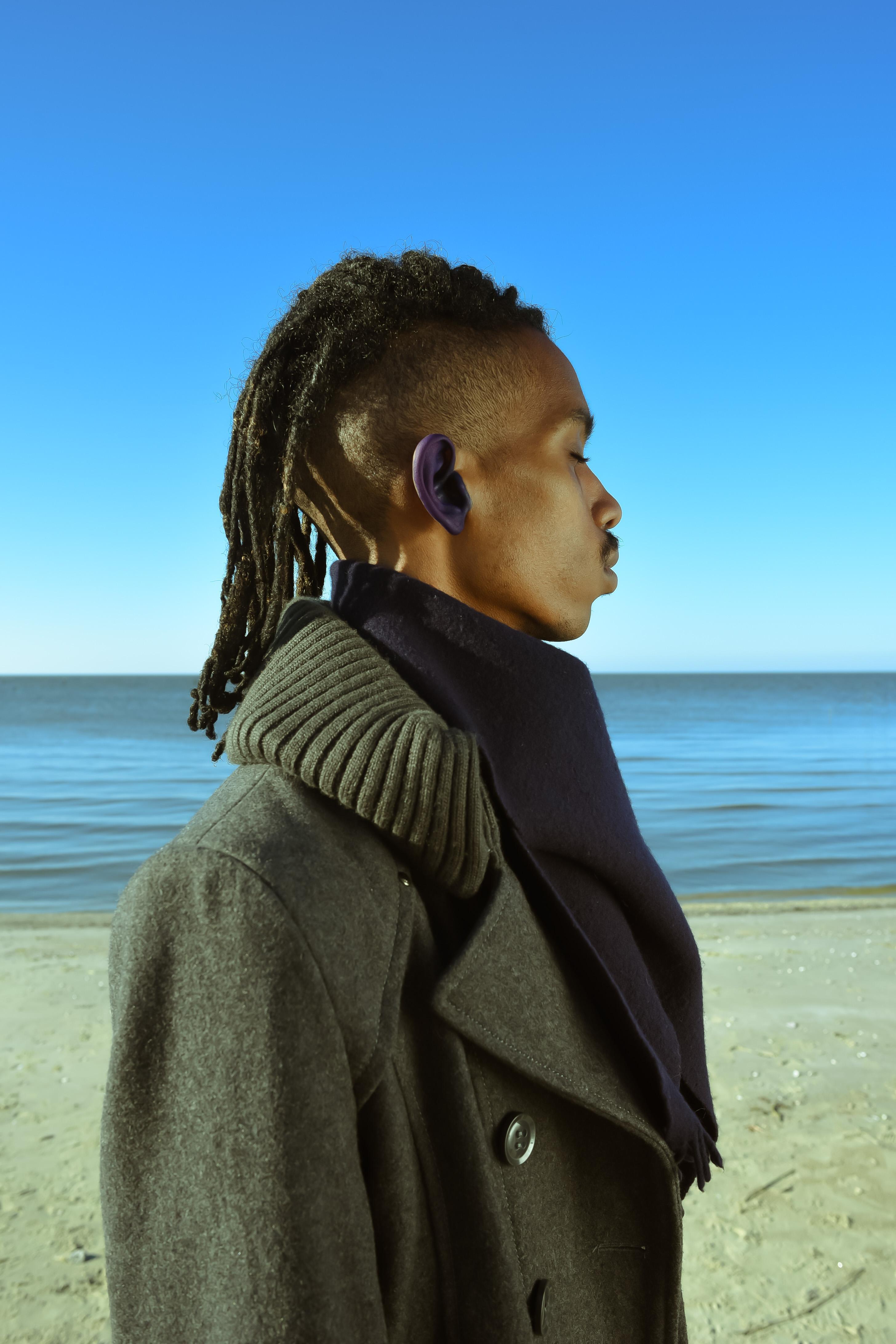 Blue Right Ear