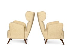 """Treno"" Contemporary Lounge Chairs"