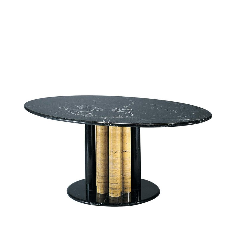 Italian Trepertre Dining Table by Sergio Asti For Sale